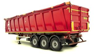 полуприцеп для перевозки сыпучих грузов